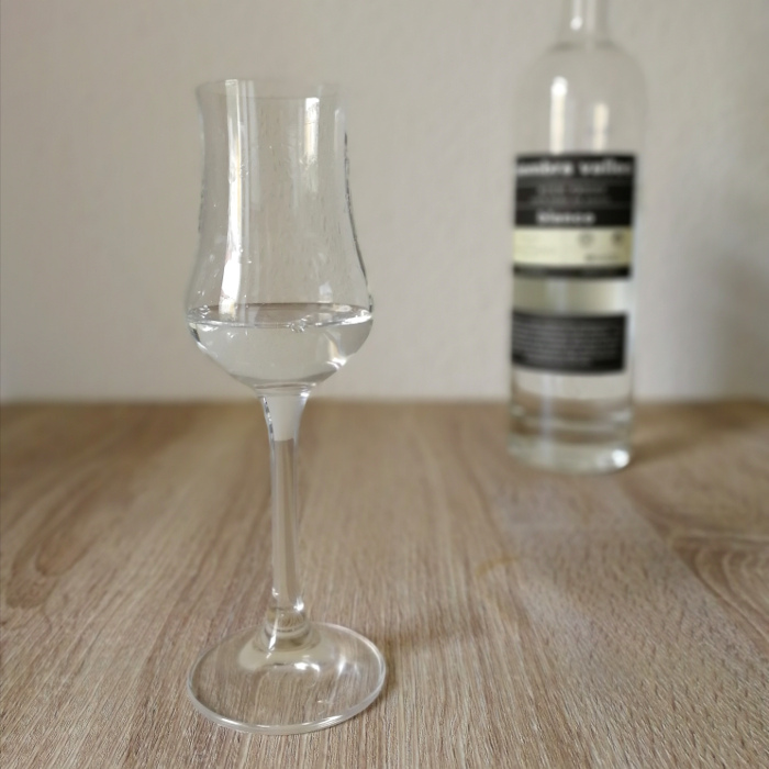 Siembra Valles High Proof Tequila Blanco Glas