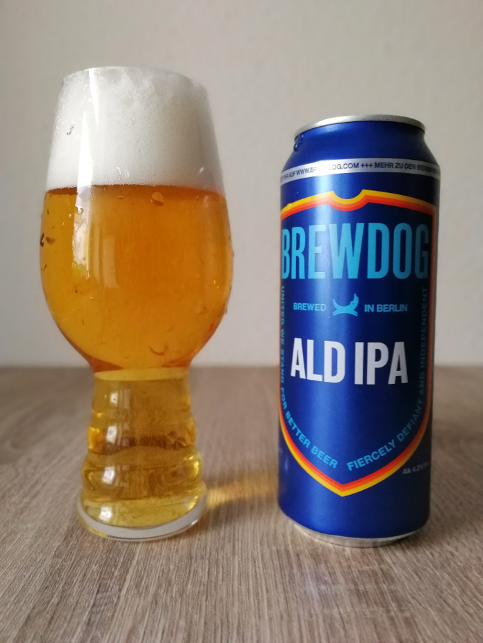 BrewDog ALD IPA Easy India Pale Ale