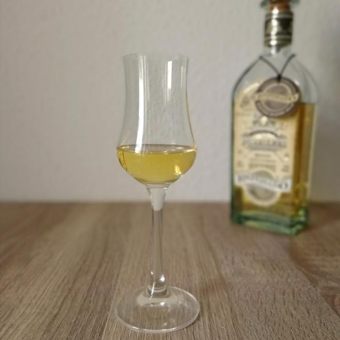 Fortaleza Tequila Reposado Winter Blend 2019 Glas