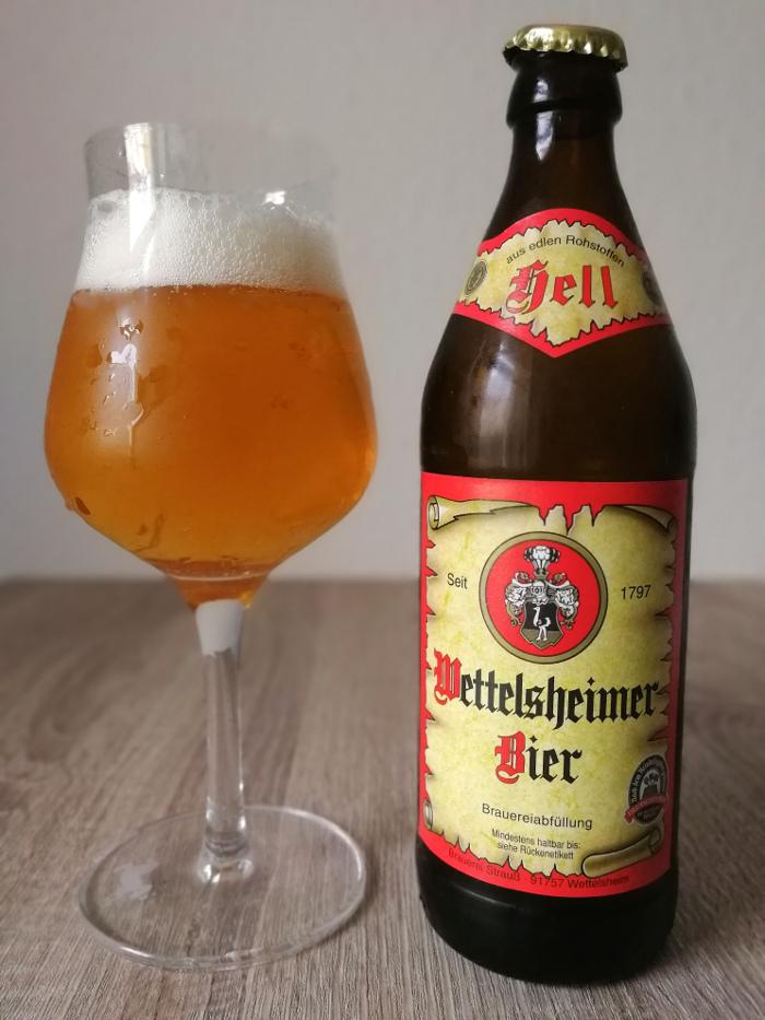 Wettelsheimer Bier Hell
