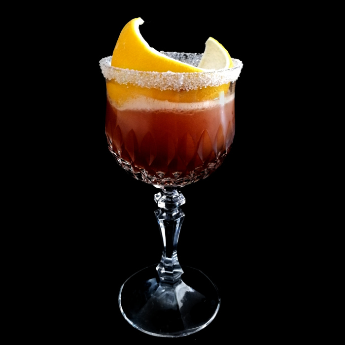 Brandy Crusta Cocktail