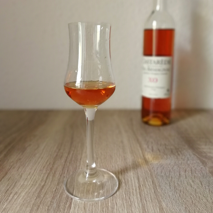 Castarède Bas Armagnac XO Glas