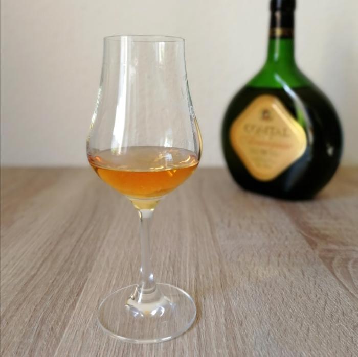 Comtal Fine Armagnac V.S. Glas