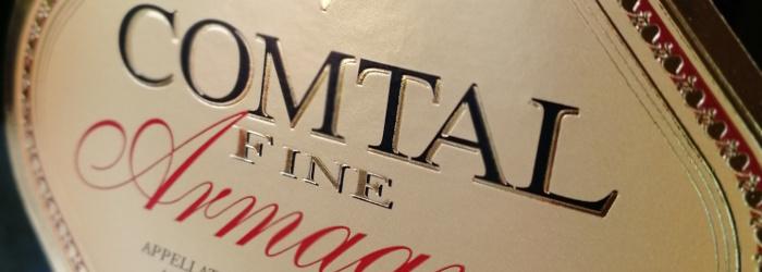 Comtal Fine Armagnac V.S. Titel