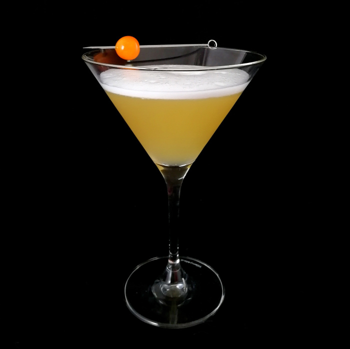 Double Barley Martini Cocktail
