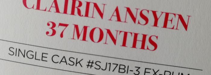 Sajous Clairin Ansyen 37 Months Single Cask Titel