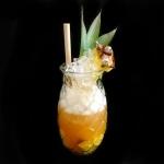Pineapple Trainwreck Cocktail