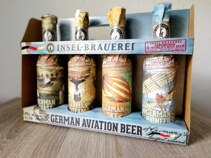Rügener Insel-Brauerei German Aviation Beer Set