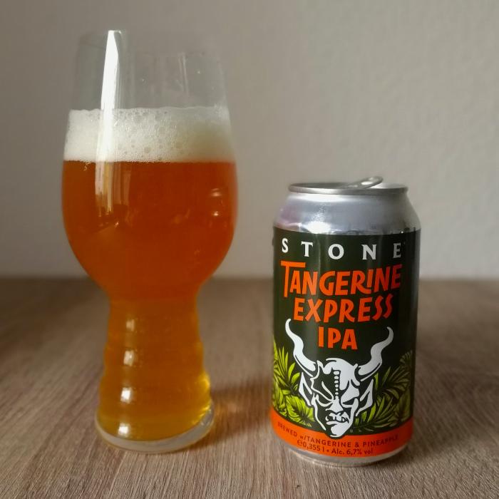 Stone Tangerine Express IPA neue Dose