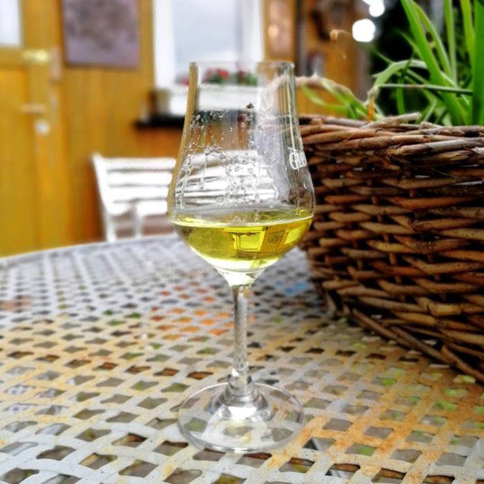 Zhuyeqing Jiu 10 (竹叶青酒10) Glas