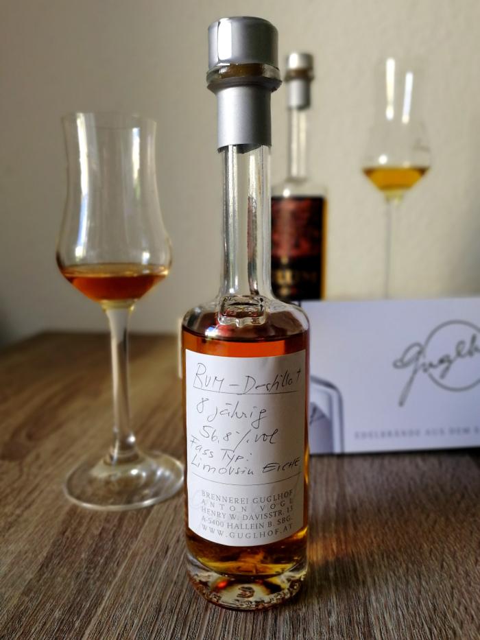 Brennerei Guglhof Art & Spirits Rum Aged 8 Years Cask Strength
