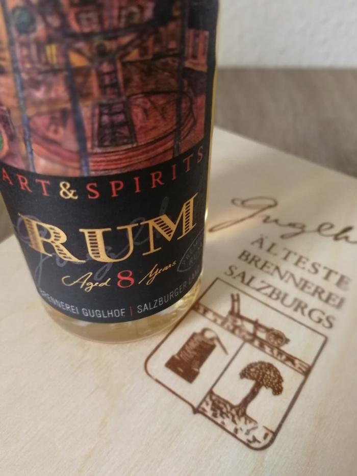 Brennerei Guglhof Art & Spirits Rum Aged 8 Years Detail 1