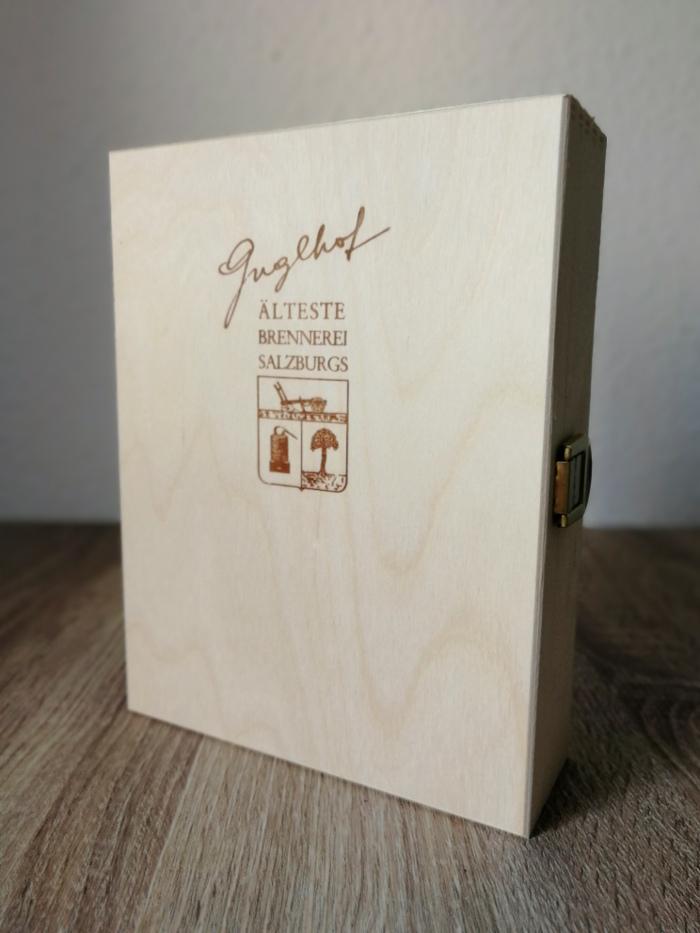 Brennerei Guglhof Art & Spirits Rum Aged 8 Years Titel Kiste allein