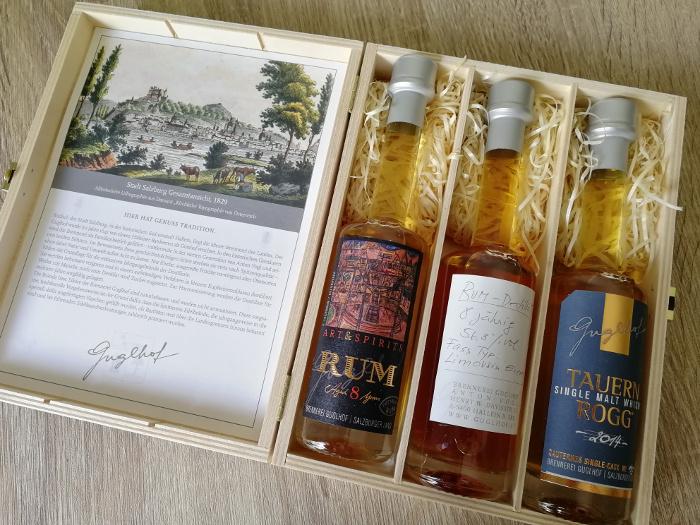 Brennerei Guglhof Art & Spirits Rum Aged 8 Years Kiste