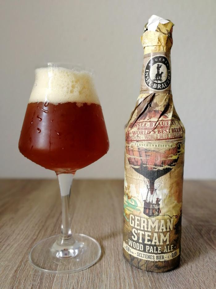 Rügener Insel-Brauerei German Steam Wood Pale Ale (German Aviation Beer #2)