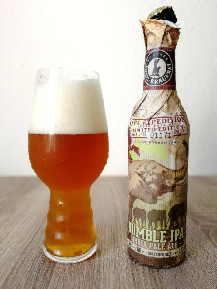 Rügener Insel-Brauerei Rumble IPA