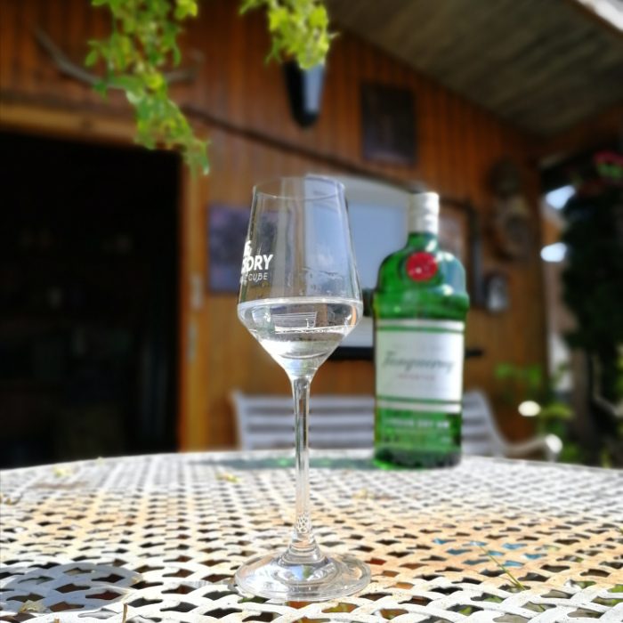 Tanqueray London Dry Gin Glas