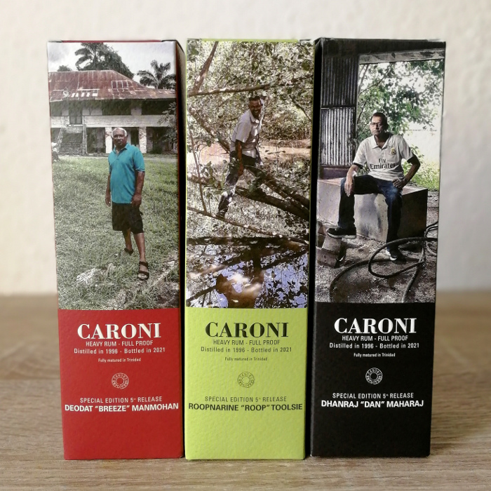 """Velier Caroni Heavy Rum """"Employees"""" Special Edition 5th Release (VSGB) Kartons"""