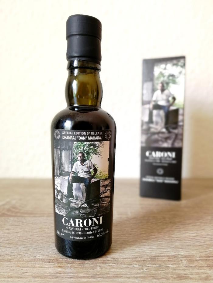 """Velier Caroni Heavy Rum """"Employees"""" Special Edition 5th Release (VSGB) Dhanraj """"Dan"""" Maharaj"""