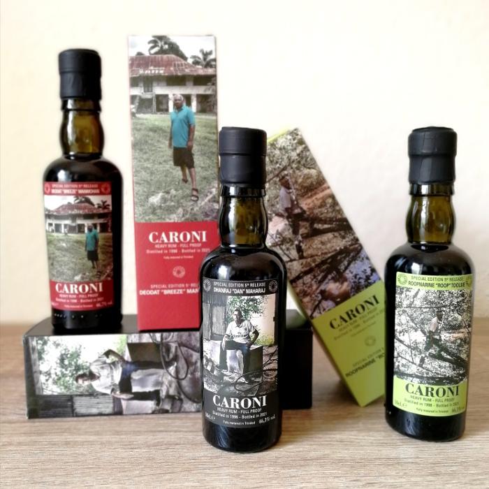 "Velier Caroni Heavy Rum ""Employees"" Special Edition 5th Release (VSGB) Flaschen und Kartons"