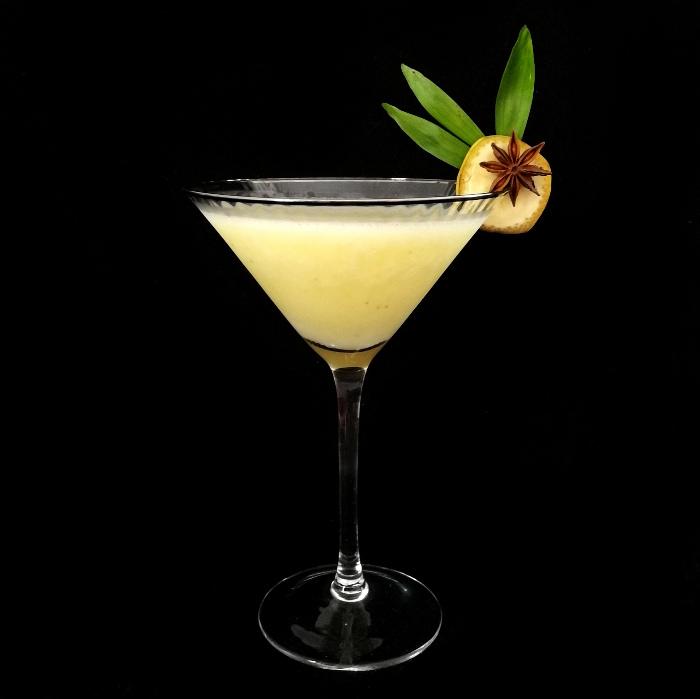 Nuclear Banana Daiquiri Cocktail