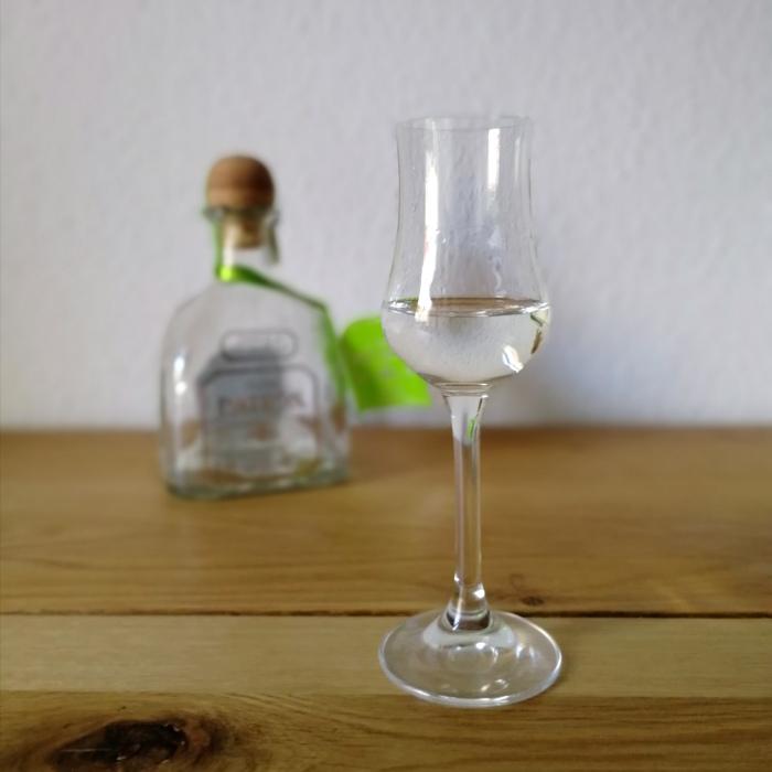 Patrón Silver Tequila Glas