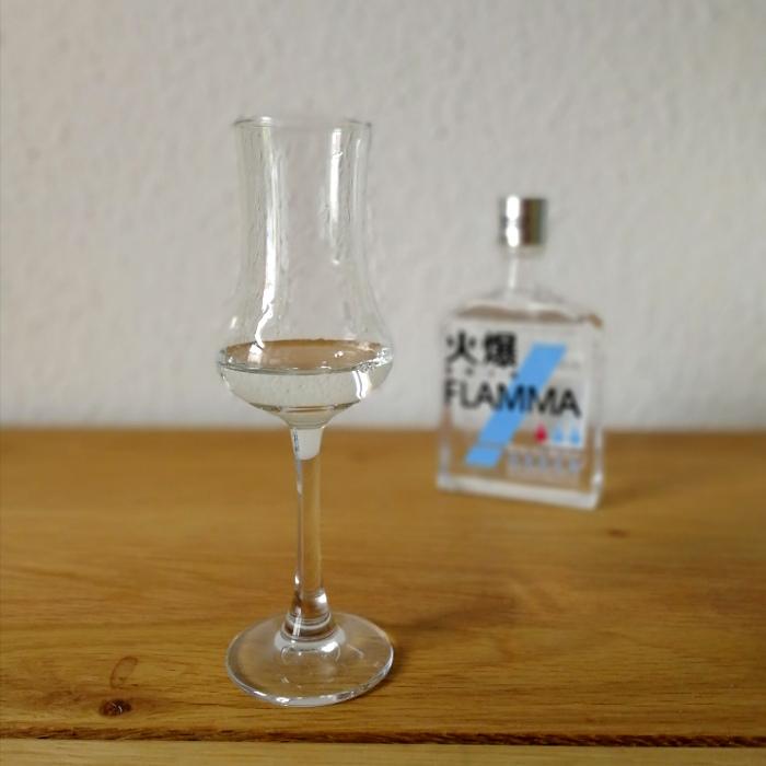 Wuliangye Flamma Blau Glas