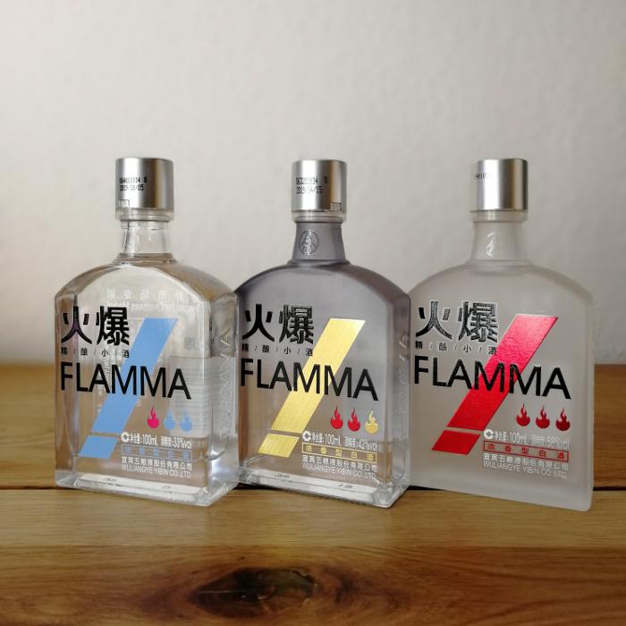 Wuliangye Flamma (五粮液火爆) Dreierset