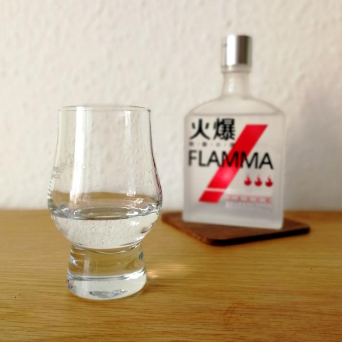 Wuliangye Flamma Rot Glas